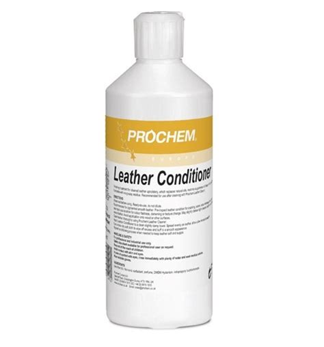Leather Upholstery Cleaning Products by Prochem Leather Conditioner Leather Cleaner Click