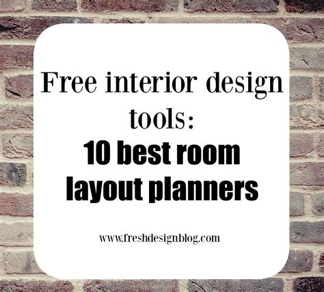 design a room layout 10 of the best free room layout planner tools