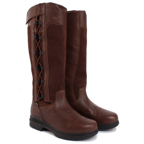 Country Boots Casual Slop Suede ariat rydal mens country boots chocolate redpost