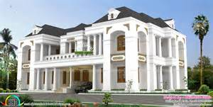 kerala home design colonial luxury bungalow style colonial indian home design kerala