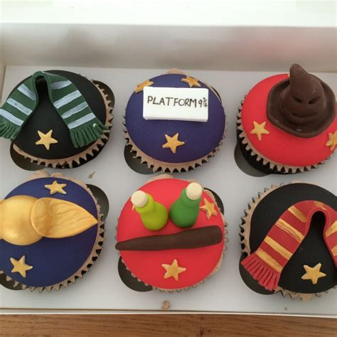 Home Decorator Items by Harry Potter Cupcakes