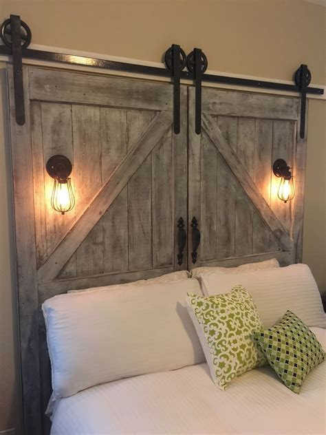 diy rustic headboard ideas diy rustic headboard ideas old doors headboard with diy