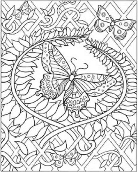free coloring pages for adults printable hard to color butterfly coloring pages for adults free enjoy coloring