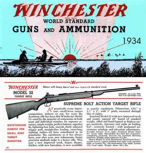 guns ammunition and tackle classic reprint books cornell publications winchester 1934 world standard guns