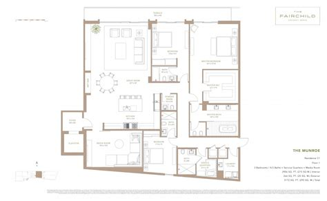 duet floor plans c1 floor plan model c1 linec1 atthe fairchild coconut grove miami