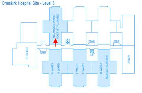 Maternity Hospital Floor Plan by Nhs Southport Amp Ormskirk Nhs Hospital Trust