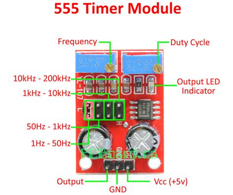 Frequency Module Square Wave Signal Generator And Ne555 Duty Cycle ne555 adjustable square wave signal generator