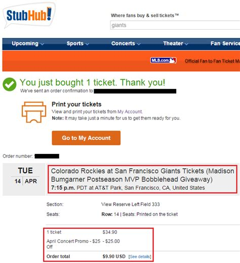 stubhub fan code discount image gallery stubhub coupons 2013