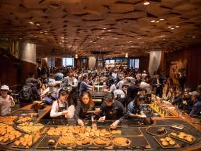 Starbucks opened a super sized gourmet location in China ? here's what it looks like (SBUX