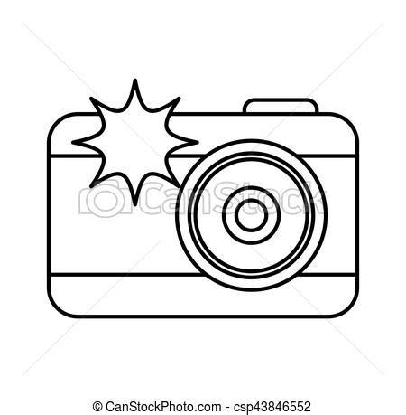 Éclat appareil photo, photographique, icône. Éclat