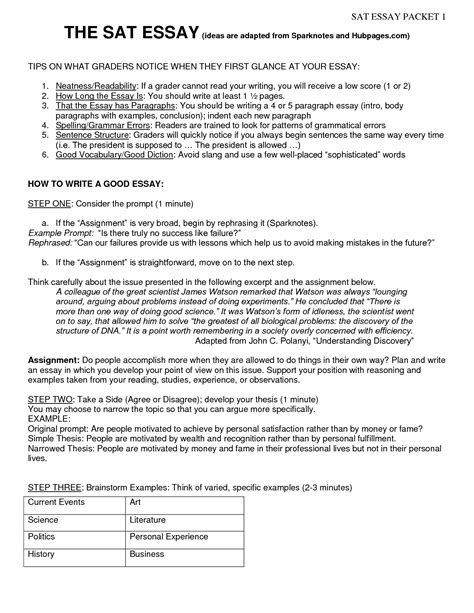 Sat Essay Format by Current Event Exles For Sat Essay Bamboodownunder