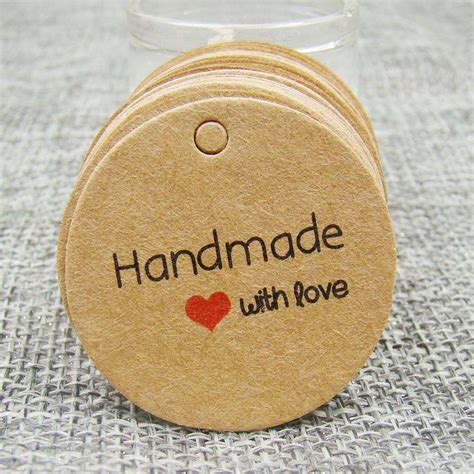 Handmade Jewelry Tags - handmade jewelry tags promotion shop for promotional