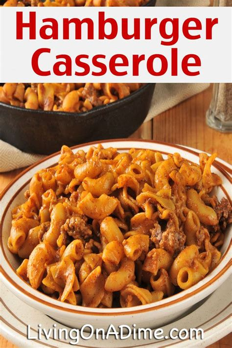 10 dinners for 5 cheap dinner recipes and ideas easy crockpot hamburger casserole recipe 10 dinners for 5 cheap dinner reci glavportal