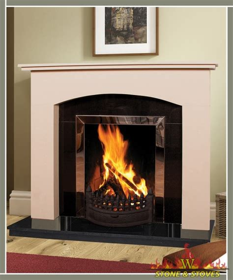 Fireplaces Ie by Swinford With Hearth Insert Panel Stoves