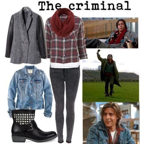 Breakfast Club Wardrobe by Bender Judd Nelson Style And Clothes