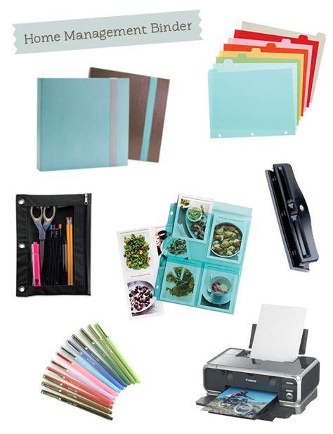 home organization binder 17 best images about home management binder on pinterest organizer planner free printables