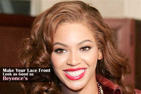 beyonce lace front wigs how to apply lace wig de novo hair lifestyle make your lace front look as good as beyonce s