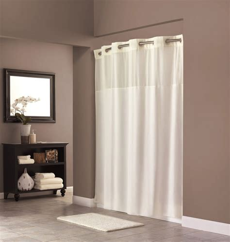 snap in shower curtain liner hotel shower curtain with snap in liner hotel shower