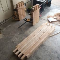 wooden bench press 25 best ideas about 2x4 bench on diy wood