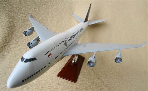 Pesawat Garuda Indonesia A380 Jumbo Baterai Limited mainan pesawat boeing 747 mainan toys