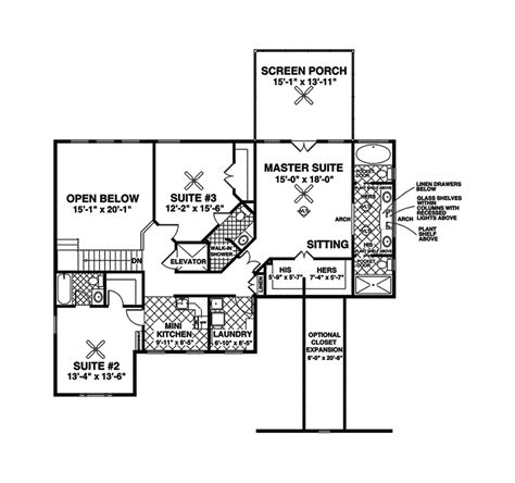 crandall cliff one story home plan 013d 0130 house plans arts and crafts house plans webbkyrkan com webbkyrkan com