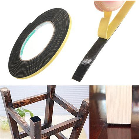 self adhesive 5000 215 2x5mm black single sided self adhesive foam tape