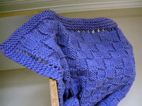 Easy Knit Baby Blanket For Beginners by Easy Baby Blanket Knitting Patterns For Beginners