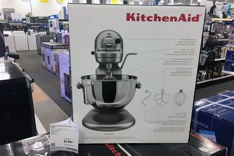 Best Buy Kitchen Aid by Kitchenaid 500 Professional Mixer Just 200 At Best Buy