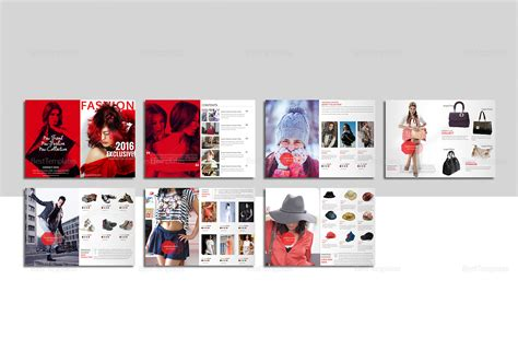 fashion catalog template in psd word publisher indesign