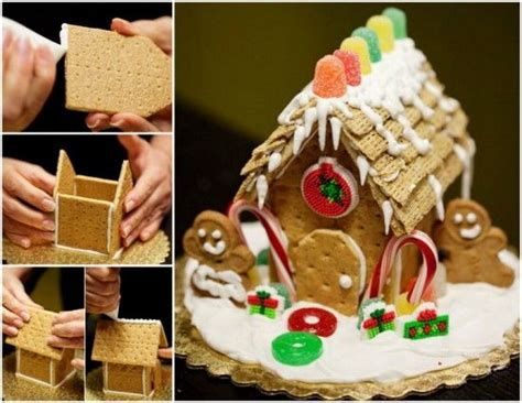 diy gingerbread house diy mini gingerbread house pictures photos and images for facebook tumblr