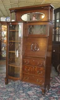 Antique Side By Side Desk by Antique 1890 S Larkin Tiger Oak Side By Side