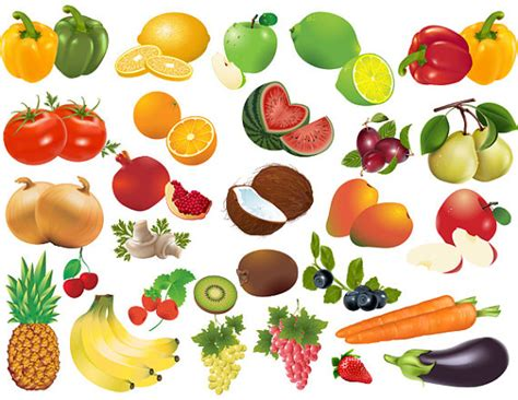 fruits and vegetables clipart fruits and vegetables clipart clipart suggest