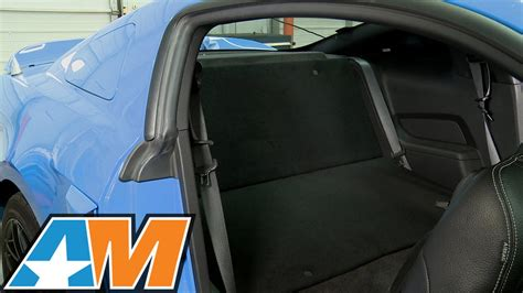 mustang rear seat delete kit 2005 2014 mustang rear seat delete kit review install