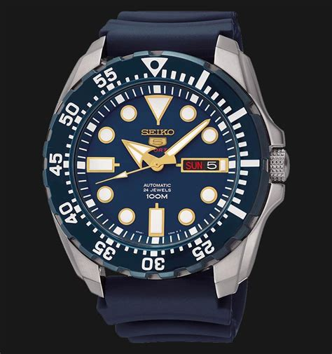 Jam Tangan Burton Review seiko 5 sports srp605k2 automatic blue stainless