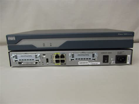 Router Cisco cisco 1841 k9 cisco 1800 series integrated services