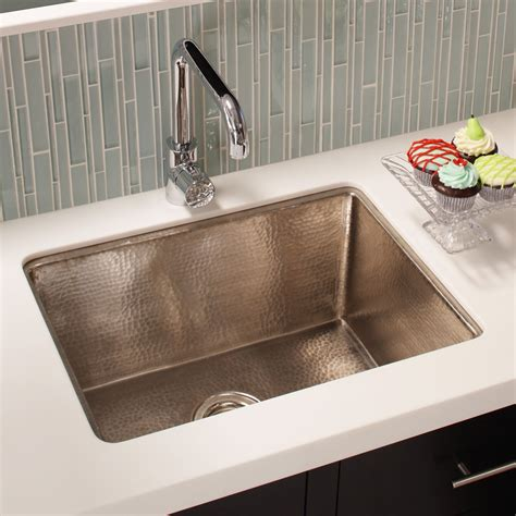Kitchens Sinks Cocina 24 Copper Kitchen Sink Trails