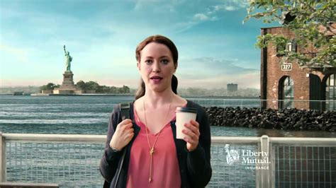 liberty mutual female spokespersons liberty mutual insurance tv commercial accident