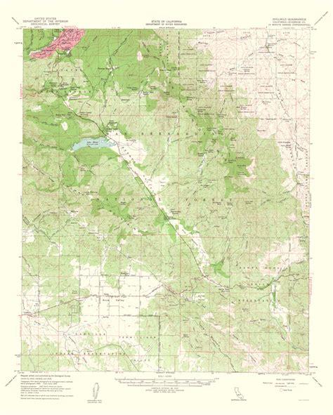 california quadrangle map historical topographical maps idyllwild quadrangle