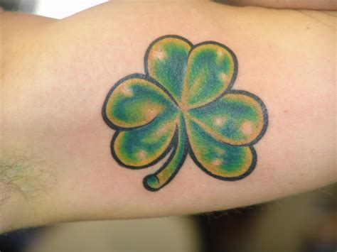 shamrock tattoos designs ideas and meaning tattoos for you