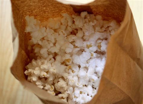 Popcorn In A Paper Bag - agnes attic microwave popcorn in a