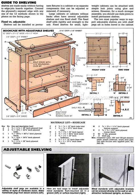 how to build a bookcase build a bookcase woodarchivist