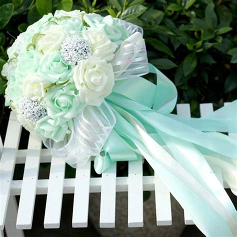 Wedding Bouquet Mint Green by 25 Best Images About Mint Green Flowers On