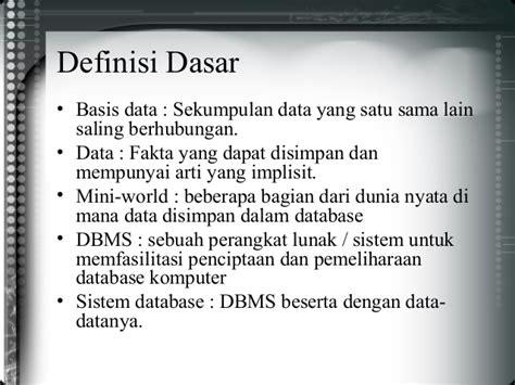 konsep desain database desain database