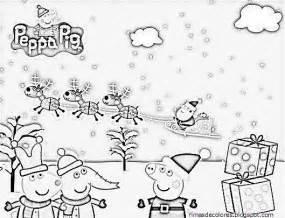 blog los ni 241 os dibujos navidad peppa pig