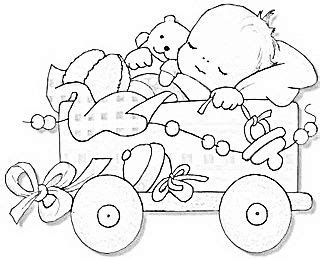 coloring page baby sleeping antique drawing of sleeping baby great to trace add to