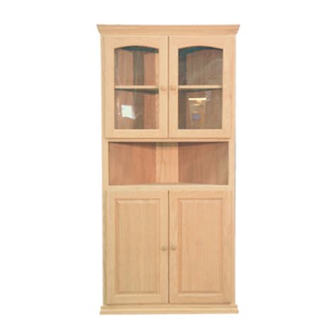 Corner Cabinet With Glass Doors by 36 Glass Panel Door Corner Cabinet Generations Home