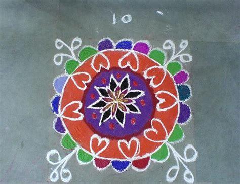 simple pattern rangoli beautiful simple rangoli designs for diwali deepak
