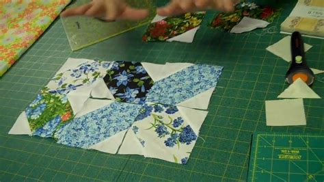 X's and O's Quilt Block   Easy Quilting Tutorials   YouTube