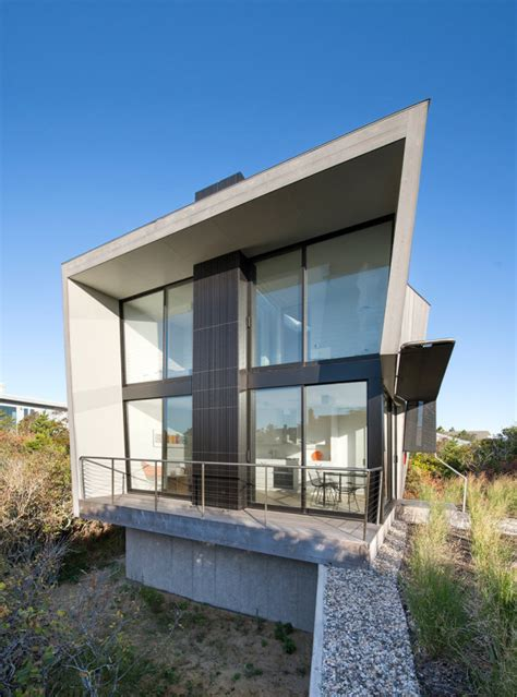 small two story homes tiny two story beach house with geometric design digsdigs