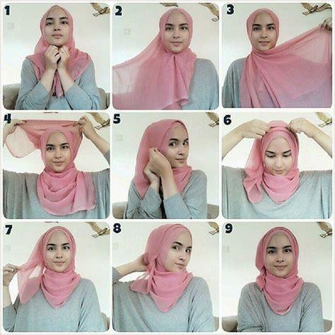 youtube tutorial zahratul jannah fashfaith com hijab tutorial scarf styling pinterest